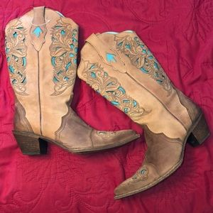 NWOT Corral Vintage Handcrafted Cowboy Boot Sz 10